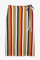 Thumbnail for your product : Monki Midi wrap skirt