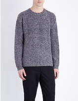 Paul Smith Ribbed merino wool jumper