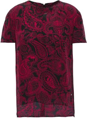 Versace Printed Cady T-shirt