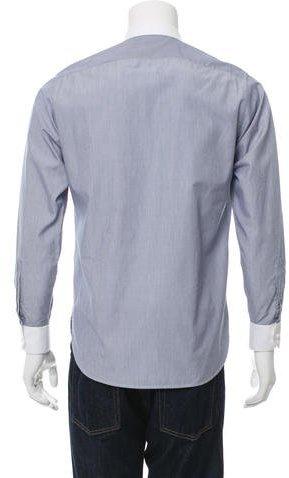 Saint Laurent Slim Fit Button-Up Shirt