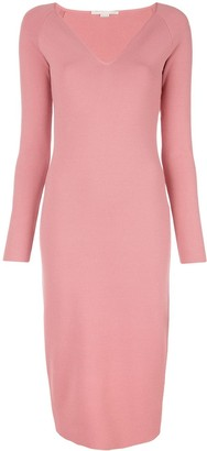 Stella McCartney V-neck midi dress