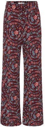 See by Chloe Floral wide-leg pants