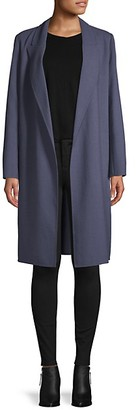 Lafayette 148 New York Wool Open-Front Jacket