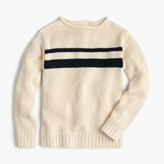 J.Crew Boys' striped cotton rollneckTM sweater
