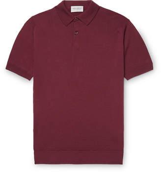 John Smedley Slim-Fit Virgin Wool Polo Shirt