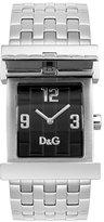 "D&G Dolce & Gabbana Women's DW0028 ""Mick"" Silver-Tone Watch"