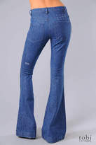 Ksubi Joplin Flare Jeans in Clean Indigo