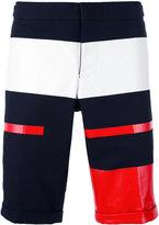 Thom Browne block panel chino shorts - men - Cotton - 3