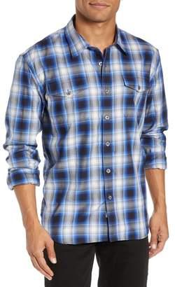 COASTAORO Ruby Rancher Regular Fit Plaid Flannel Shirt