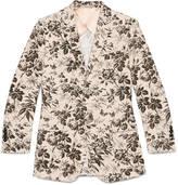 Gucci New Palma Herbarium print jacket