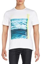 Calvin Klein Jeans The Wave Graphic Tee