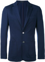 Corneliani patch pocket blazer - men - Polyester/Virgin Wool - 50