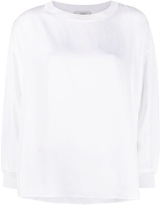 Vince Longsleeved Round-Neck Top