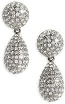 Nina Women's Teardrop Crystal Earrings