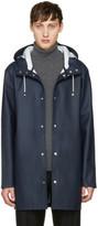 Stutterheim Navy Stockholm Raincoat
