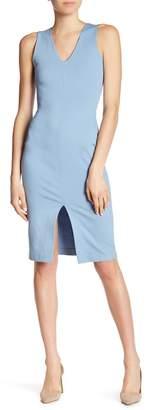 Love...Ady Ponte V-Neck Bodycon Dress