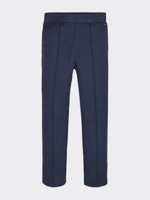 Tommy Hilfiger Stretch Viscose Signature Tape Trousers