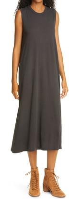 The Great Sleeveless Cotton Midi Dress