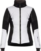 LACROIX Distinction leather-panelled ski jacket