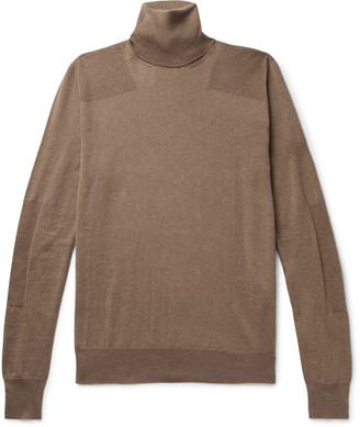 Amiri Wool And Cashmere-Blend Rollneck Sweater