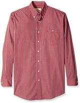 Wrangler Men's Big and Tall Western Classics Long Sleeve Shirt