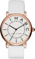 Marc by Marc Jacobs Women's Roxy White Leather Strap Watch 36mm MJ1561