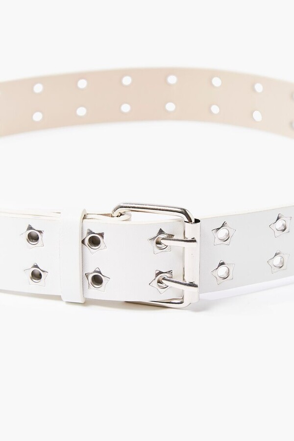 Thumbnail for your product : Forever 21 Faux Leather Grommet Hip Belt