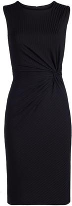 New York & Co. Twist-Front Sheath Dress