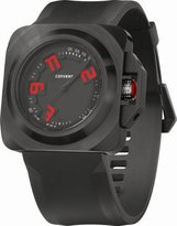 Converse Men's VR018001 Overtime Classic Analog and Silicone Strap Watch