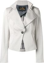 Vivienne Westwood Talleted jacket - women - Cotton/Elastodiene/Viscose - 40