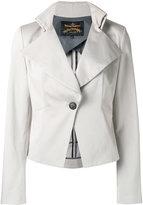 Vivienne Westwood Talleted jacket - women - Cotton/Elastodiene/Viscose - 46