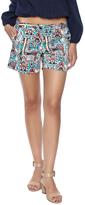 Jade Floral Aztec Shorts