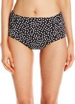 Jantzen Women's Jet Set Dot High Waisted Bottom