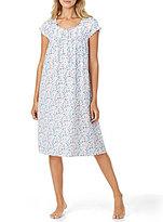 Eileen West Floral Jersey Waltz Nightgown