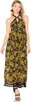 Raga Tropical Paradise Ruffle Halter Dress