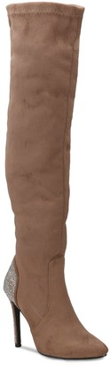 OLIVIA MILLER Sterling Women's Heel Embellished Boots