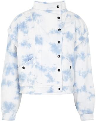 Etoile Isabel Marant Boston tie-dyed seersucker jacket
