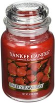 Yankee Candle Company 1053530Z Jar HW Medium Sweet Strawberry