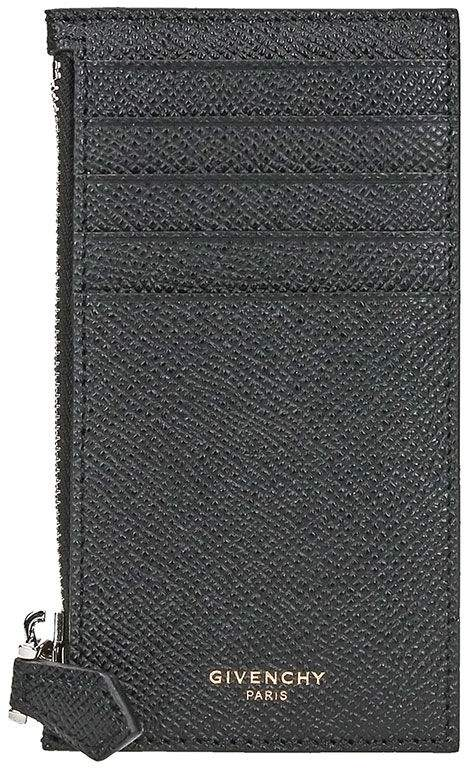 Givenchy Zip Leather Wallet
