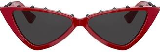 Cat Eye Rockstud cat-eye sunglasses
