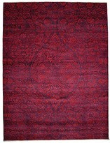 Solo Rugs Suzani Collection Oriental Rug, 9' x 11'9""