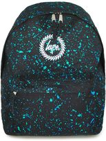Hype Paint Speckle Print Backpack*
