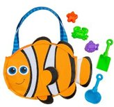 Stephen Joseph Kids' Clownfish Beach Tote (Includes Sand Toy Set) 8145859