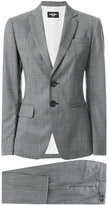 DSQUARED2 cropped London suit - women - Polyester/Wool - 36