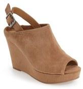 Lucky Brand Women's 'Jemadine' Platform Wedge Sandal