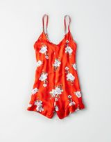American Eagle Outfitters Don't Ask Why Ruffle Romper