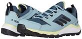 adidas Outdoor Outdoor Terrex Agravic TR GTX(r) (Legacy Blue/Black/Yellow Tint) Women's Shoes