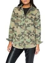New Look Women's Camo Pocket Jacket