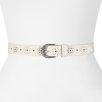 Relic by Fossil Womens Rhinestone and Grommet Belt