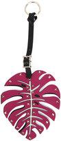 Valentino Garavani leaf bag charm
